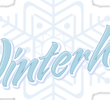 Visit Frosty Winterhold - It's MAGICAL! (tm) Sticker