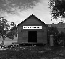 Glenorchy Hut by gematrium