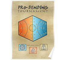 Pro-Bending Tournament Poster