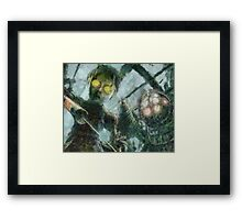 Look Mr Bubbles An Angel Framed Print