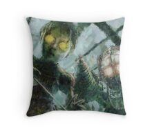 Look Mr Bubbles An Angel Throw Pillow