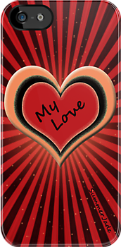 I ♥ My iPhone ~ iPhone Case by SummerJade