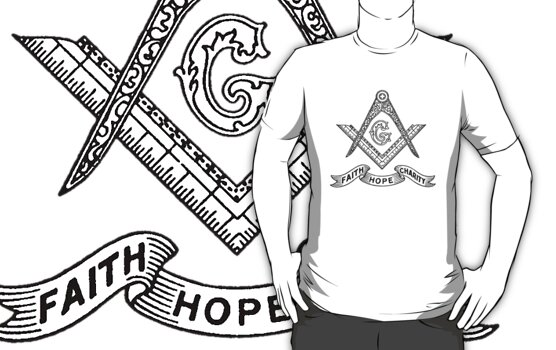 Masons Faith Hope Charity by KuromanKuro