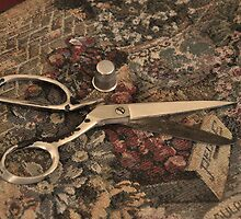 Granny's Scissors by cchandler
