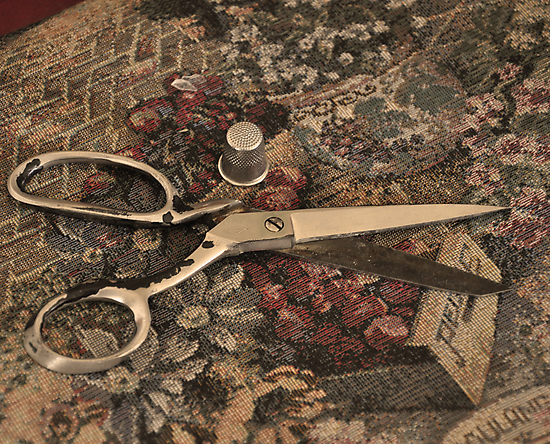 Granny's Scissors by cchandler