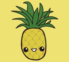 Smiley Pineapple Kids Clothes