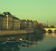 Paris Morning by Louise Fahy