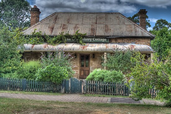 The Old Bakery Cottage, Berrima, NSW by Adrian Paul