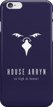 House Arryn Minimalist iPhone Case by liquidsouldes