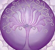 7th Chakra - Crown Chakra by Lori A Andrus