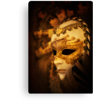 Hiding Behind the Mask Canvas Print
