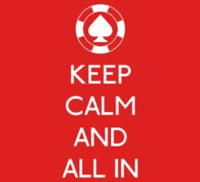 keep calm and all in by karlangas