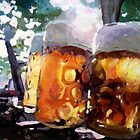 In The Beer Garden by artshop77