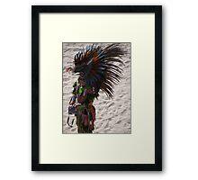 Warrior - Guerrero Framed Print