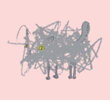 Scribble Kitty by Daniel Seex