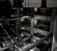 Chains, Pipes, and Mysterious  Lights by Daniel Chang