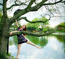 Arabesque in the Park by Jennifer Rhoades