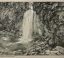 Hilton Falls by Guennadi Kalinine