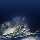 Winter Waves At Waimea Bay by Alex Preiss