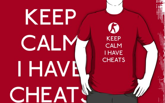KEEP CALM I HAVE CHEATS by karlangas