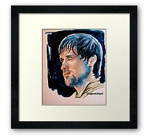 Jonas Armstrong, featured in Shameless Self-Promotion, Art Universe Framed Print