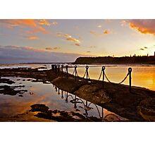 Sunset Sunday..25-3-12. Photographic Print