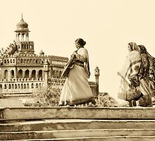 Lucknow Walk by lamiel