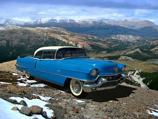 1956 Cadillac Coupe deVille by TeeMack
