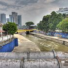 River in Kuala Lumpur by Frostworld
