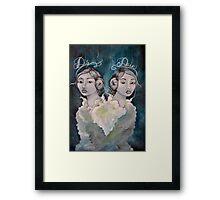 Lady Disdain Framed Print