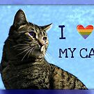 I Heart My Cat by AngieBanta