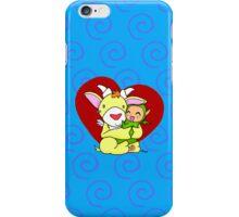 Cute monster hug iPhone Case/Skin