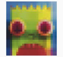 Pixel Bart Simpson by SavageHands