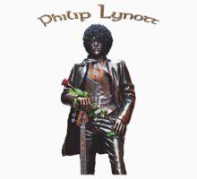 Philip Lynott's Statue - T-shirt Kids Clothes