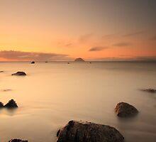 Lendalfoot Sunset by Maria Gaellman