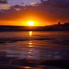 Bilinga Beach Sunrise 1 by Wayne  Nixon