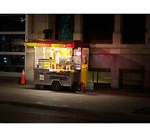 Hot Dogs On John Street Photographic Print