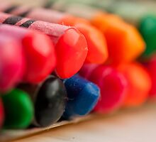 Crayons 1 by Gary Chapple