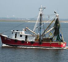 """Shrimp Boat is a'comin ... "" by Trish Meyer"