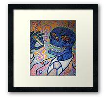Dr. Smoky Revisited Framed Print
