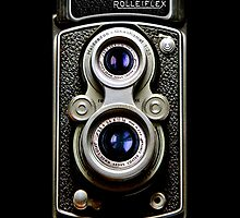 Dual Lens rolleiflex vintage camera iphone 5, iphone 4 4s, iPhone 3Gs, iPod Touch 4g case by pointsalestore Corps