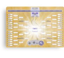 SNES Tournament Challenge!! Metal Print