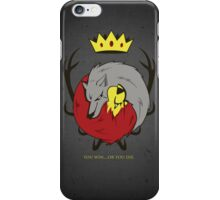 At Each Other's Throats iPhone Case/Skin