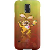 Easter Bunny Painting an Egg Samsung Galaxy Case/Skin
