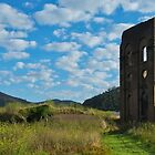 Panorama of the Blast Furnace, Lithgow by Tony Theobald