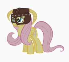 Fluttershy Dovahkiin (No Text) by quickgroth