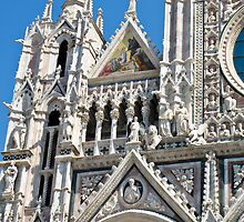 siena duomo by Anne Scantlebury