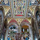 siena duomo painted ceiling by Anne Scantlebury