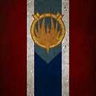 Battlestar Galactica Caprica Flag by Stucko23