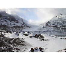 Athabasca Glacier, Jasper, Canada Photographic Print